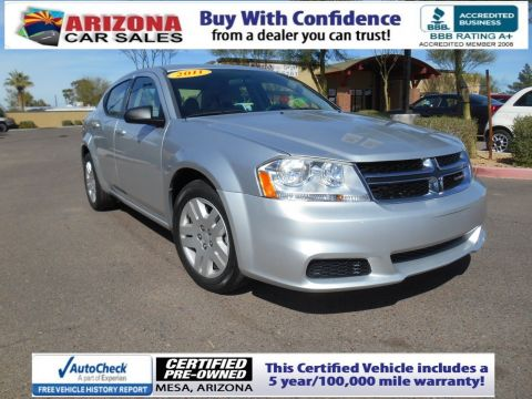 Certified Pre-Owned 2011 Dodge Avenger Express FWD 4dr Car