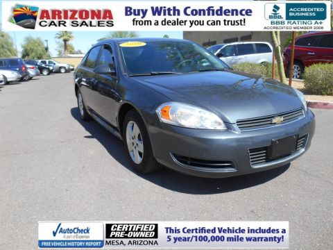 Certified Pre-Owned 2010 Chevrolet Impala LS FWD 4dr Car