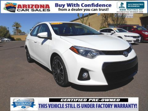 Certified Pre-Owned 2014 Toyota Corolla S Premium FWD 4dr Car