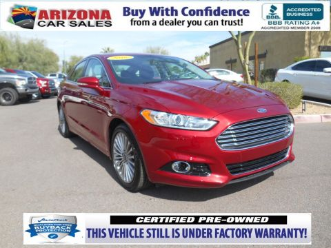 Certified Pre-Owned 2016 Ford Fusion Titanium FWD 4dr Car