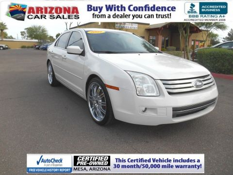 Certified Pre-Owned 2009 Ford Fusion SEL FWD 4dr Car